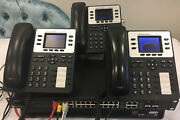 Grandstream Gxp2130 X 3 User Business Telephone System Incl Call Recording