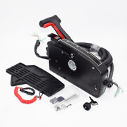 Boat Motor Side Outboard Mount Remote Control Box With 8 Pin For Mercury/mariner
