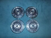 1965 Chevrolet Chevy Hubcaps Wheel Covers Vintage