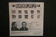 Controversial Black Panther Party Lawyer Arthur Turco Jr. Fbi Wanted Poster