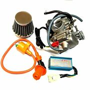 Performance New 24mm Gy6 150cc Carburetor Race Cdi Coil Air Filter Carb