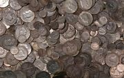 1/4 Pound Lb 4 Oz 90 And 35war Nickels Silver Coins Preppers Lot Bullion