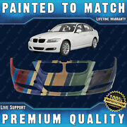 New Painted To Match Fr Bumper Direct Fit For 2009-2012 Bmw 3-series W/out M Pkg