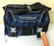 Field And Stream Angler Fishing Tackle Lures Bag With 3-3700 Utility Storage Boxes