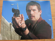 Ethan Hawke Signed Photo 11x14 Coa + Proof Training Day Dead Poets Society