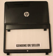 Hp 15-g Series 15-g092sa 15.6andrdquo Rear Screen Cover Lid And Bezel Surround Trim