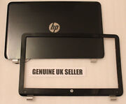 Grey Hp 15-n Lcd Screen Lid Back Cover And Front Bezel Surround Trim And Wifi Cable