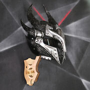 Skyrim Daedric Motorcycle Helmet. Dot And Ece Certified. Road Legal. Free Shipping