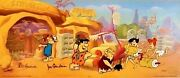 Hanna Barbera Cel Signed Flintstones Freds Spare Tire Rare Number 1 Edition Cell