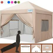 Quictent Ez Pop Up Canopy 10'x10' Outdoor Wedding Party Tent Gazebo Shelter Us