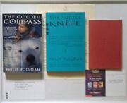 Philip Pullman - His Dark Materials. Signed. Usa Uncorrected Proofs And H/b 1/1