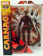 Diamond Select Toys Marvel Select Carnage Action Figure Discontinued Mint New