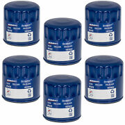 Oem New Acdelco Engine Oil Filter Pf47e Pack Of 6 Gm Cars Trucks And Suvs 19210284