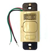 Hubbell Ad1277i1 H-moss Pir And Us 1-circuit Wall Switch 1 Button 1000sq Ft Ivory