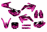 Crf 150r Graphics Decal Kit For Honda 2007- 2016 9700 Pink Zombie Girl