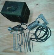Vintage Syntron Electric Hammer Drill Outfit Model Mk