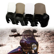 Front Upper Fairing W/ 15and039and039 Windshield Windscreen For Harley Dyna Low Rider Fxdl