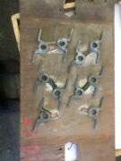 """Antique Industrial Foundry Sand Cast Mold Pattern Form Railing Brackets 4 5/8"""""""