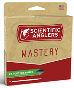 Sa Mastery Expert Distanc Wf-8 Floating Fly Line - Mist Green -free Us Ship