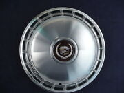1985-1986 Cadillac Fleetwood Deville 14 Inch Wheel Covers Hubcaps Set Slot Type