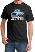 1956 Ford F100 F-100 Pickup Truck Full Color Tshirt New Free Shipping