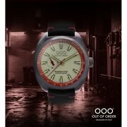 New Oooout Of Order Watch Torpedine Red Limited Automatic Damaged In Italy