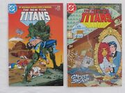 New Teen Titans Vol 2 11 12 13 14 15 16 17 18 19 Annual 1, All Vf+ Or Above