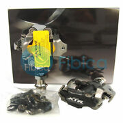 New 2020 Shimano Xtr Race Pd-m9100 Spd Mountain Mtb Clipless Pedals With Cleats