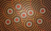 Gorgeous Aboriginal Painting By Papunya Artist William Sandy Large And Gorgeous