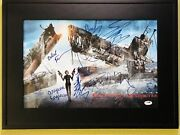 Resident Evil Afterlife Milla Jovovich 11x17 Framed And Signed By Cast Psa Coa