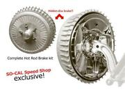 So-cal Speed Shop Hot Rod Front Brakes Polished 001-62031 Hot Rat Street Rod