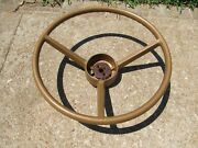 1970 A And B Body Gold Steering Wheel Mopar Dodge Plymouth 2996715 Very Nice