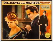 Movie Poster Dr. Jekyll And Mr. Hyde 1931 Lobby Card 11x14 Fine Fredric March