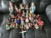 Antique Bisque Doll And Many More Lot Of 38