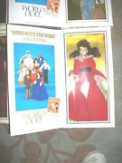 Scarlett Red Dress 50th Ann 1989 Led 1st Ed Gone With The Wind World Doll
