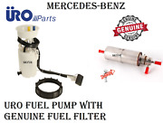 Mercedes Ml320 Ml430 Fuel Pump Assembly And Fuel Filter Set Uro