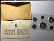 1964 Canadian Silver Proof-like 6 Coin Set, In Original Packaging