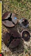 4x Lathe Milling Components Including 2 Pc 200mm Lathe Chuck Bodies Tos Iu 200m1