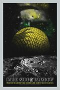The Dark Side Of The Rainbow By John Smith - Silver - Rare Sold Out Mondo Print