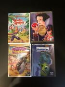 Disney Dvd, Snow White Platinum Ed., The Jungle Book Limited Ed,.+ 2 Collectible