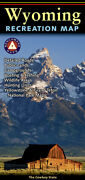 National Geographic Benchmark Wyoming Wy Recreation/public Land/hunting/road Map