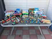 Thomas The Train And Friends Wooden Track And Play Toy Set Thomas The Tank Engine
