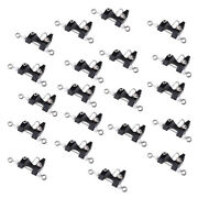 20pcs Outrigger Downrigger Adjustable Tension Trolling Fishing Release Clips