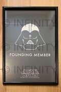 Star Wars Founding Member Rare One-of-a-kind Force For Change Poster