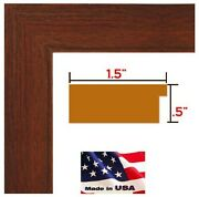 Us Art Frames 1.25 Flat Cherry Maroon Picture Poster Frame Wood Composite S-b