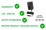 9v Ac Dc Power Supply Adapter For Korg Cliphit Clip Hit Replacement Ka-350 Ka350