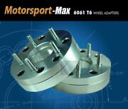 2 Wheel Adapters 4x4.25 To 5x4.75 Spacers   For Corvette Wheels On 4x108 Hub