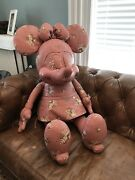 Coach X Disney Minnie Mouse Doll Collectors Doll Limited Edition Leather Doll -