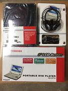 Toshiba Sd-kp19 Portable Dvd Player 8andrdquo Screen New Sealed