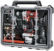 Black And Decker Matrix 6 Tool Combo Kit Set With Case Home Garden Power Tool New